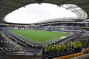 Hull City's KC Stadium before the Sky Bet Championship match between Hull City and Burnley at the KC Stadium, Kingston upon Hull, England on 26 December 2015. Photo by Ian Lyall.