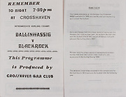 Hurling match, Crosshaven, Some facts,   Railway Cup Hurling.Munster v Connacht.Pairc Ui Chaoimh.16th April 1978.16.04.1978