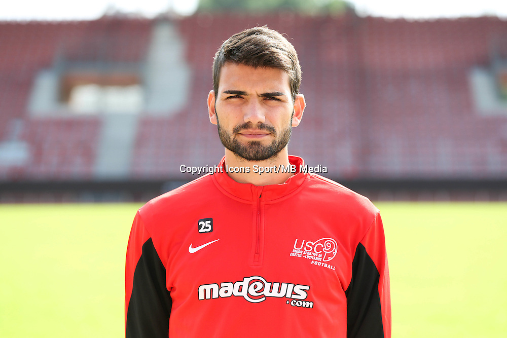 Augusto Pereira - 11.07.2014 - Creteil / UNFP - Match Amical <br /> Photo : Andre Ferreira / Icon Sport