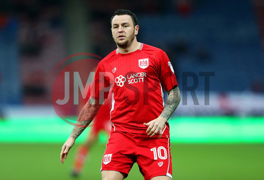 Lee Tomlin of Bristol City - Mandatory by-line: Matt McNulty/JMP - 10/12/2016 - FOOTBALL - The John Smith's Stadium - Huddersfield, England - Huddersfield Town v Bristol City - Sky Bet Championship