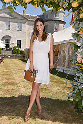 Amber Le Bon at the 'Cartier Style et Luxe' enclosure during the Goodwood Festival of Speed, Goodwood House, West Sussex, England. 15 July 2018.