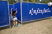 Maze at the Abita Springs Water Festival on October 16, 2016