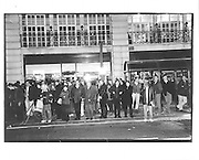 Regent Street, night bus, Last Bus Home, London, approx.1996© Copyright Photograph by Dafydd Jones 66 Stockwell Park Rd. London SW9 0DA Tel 020 7733 0108 www.dafjones.com