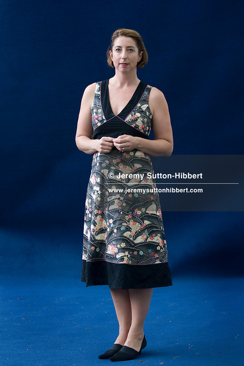 Jenny Colgan, British chick-lit author and journalist. Edinburgh International Book Festival, Edinburgh, Scotland. Edinburgh is the inaugural UNESCO City of Literature.
