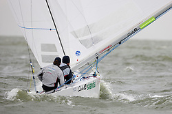 Iain Percy and Andrew Simpson, GBR, Star, Day 5, May 28th, Delta Lloyd Regatta in Medemblik, The Netherlands (26/30 May 2011).