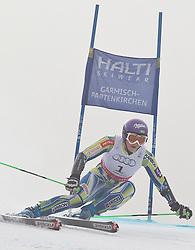 17.02.2011, Kandahar, Garmisch Partenkirchen, GER, FIS Alpin Ski WM 2011, GAP, Riesenslalom, im Bild TinaTina Maze (SLO) // Tina Maze (SLO) during Giant Slalom Fis Alpine Ski World Championships in Garmisch Partenkirchen, Germany on 17/2/2011. EXPA Pictures © 2011, PhotoCredit: EXPA/ J. Groder