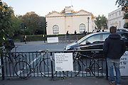 Opening of Frieze Masters. Regent's Park. London. 15 October 2013.