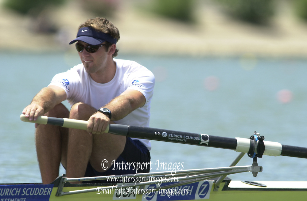 Peter Spurrier Sports  Photo.email pictures@rowingpics.com.Tel 44 (0) 7973 819 551.Tel/Fax 44 (0) 1784 440 772..USA M2-Bryan Volpenhein 20010515 FISA World Cup, Seville, SPAIN