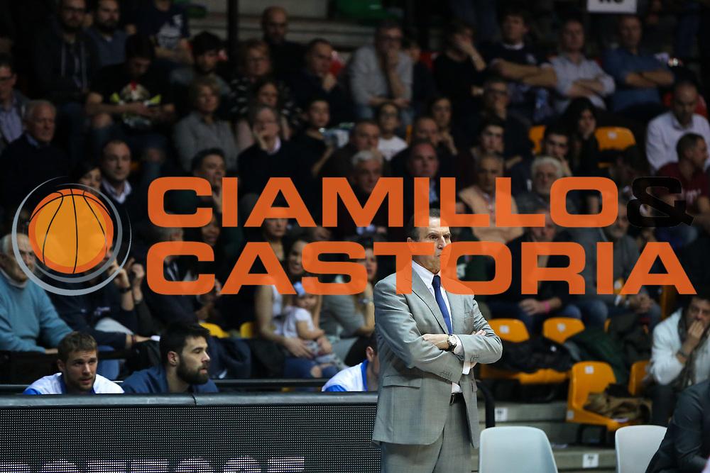 Recalcati Carlo, Mia Cantù vs Grissin Bon Reggio Emilia LBA serie A 6^ giornata di ritorno stagione 2016/2017 PalaDesio 06/03/2017