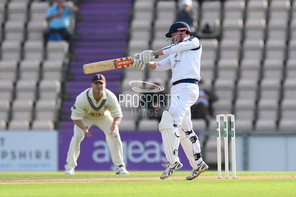 George Bailey of Hampshire batting during the Specsavers County Champ Div 1 match between Hampshire County Cricket Club and Surrey County Cricket Club at the Ageas Bowl, Southampton, United Kingdom on 6 September 2017. Photo by Graham Hunt.