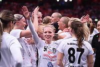 2019-04-27 | Stockholm, Sweden: Täby FC IBK (94) Matilda Sjödin during the game between KAIS Mora IF and Täby FC IBK at Ericsson Globe Arena ( Photo by: Simon Holmgren | Swe Press Photo )<br /> <br /> Keywords: Ericsson Globe Arena, Stockholm, Floorball, SM-Final, KAIS Mora IF, Täby FC IBK