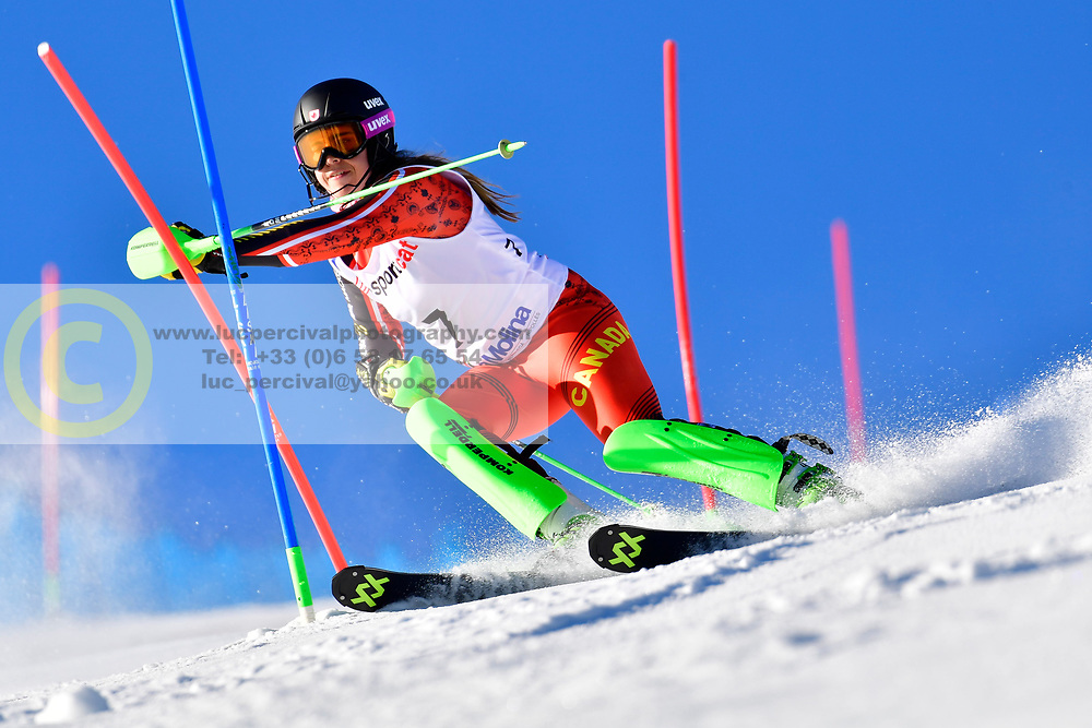 RAMSAY Alana, LW9-2, CAN, Slalom at the WPAS_2019 Alpine Skiing World Cup, La Molina, Spain
