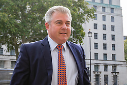 © Licensed to London News Pictures. 10/09/2019. London, UK. Minister of State for the Home Office Brandon Lewis arrives at The Cabinet Office ahead of a Cabinet Meeting.  Photo credit: George Cracknell Wright/LNP