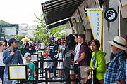 Ambiance and rain during the Roland Garros French Tennis Open 2018, Preview, on May 21 to 26, 2018, at the Roland Garros Stadium in Paris, France - Photo Pierre Charlier / ProSportsImages / DPPI