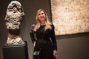 CARINE MENACHE, DUBUFFET COLLECTOR, LOANED THE EARTH WORKS,  Dubuffet opening, Palazzo Franchetti, Biennale, Venice, 9 May 2019