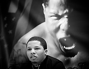 Floyd Mayweather Jr & Frank Warren press conference at The Savoy Hotel, London, Great Britain <br /> 7th March 2017 <br /> <br /> <br /> <br /> Gervonta Davis <br /> (an American professional boxer who has held the IBF junior lightweight title since January 2017)<br /> 