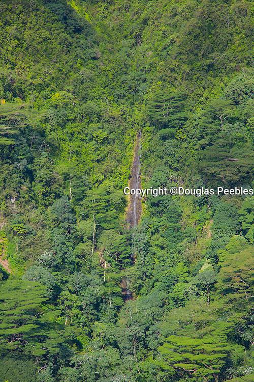 Aerial, ridges, Manoa Valley,Honolulu, Oahu, Hawaii