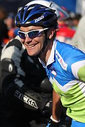 Borut Bozic of Slovenia during the Men's Elite Road Race at the UCI Road World Championships on September 25, 2011 in Copenhagen, Denmark. (Photo by Marjan Kelner / Sportida Photo Agency)
