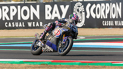 September 29, 2018 - 22, Alex Lowes, GBR, Yamaha YZF R1, Pata Yamaha Official WorldSBK Team (Credit Image: © AFP7 via ZUMA Wire)