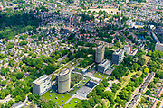 Nederland, Gelderland, Apeldoorn, 29-05-2019; Apeldoorn West met (de wijk) Sprengenbos en omgeving. Gebouwen van de Belastingdienst, Centrum voor Applicatieontwikkeling en - Onderhoud.<br /> Buildings of the Tax Administration Center.<br /> luchtfoto (toeslag op standard tarieven);<br /> aerial photo (additional fee required);<br /> copyright foto/photo Siebe Swart