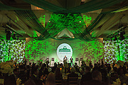 Ron Teplitzky introduces winners during the 2016 Alumni Awards Gala at Ohio University's Baker Center Ballroom on Friday, October 07, 2016.