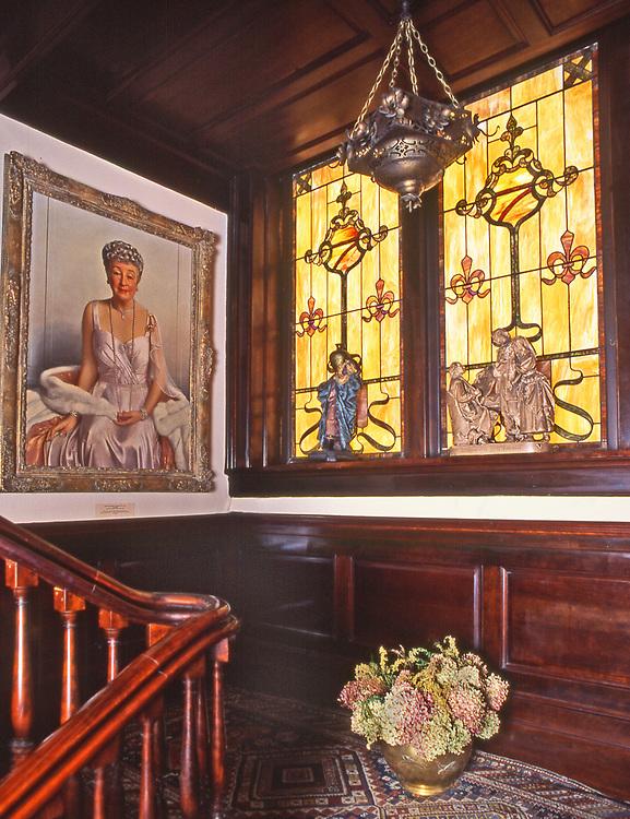 Catlin House, portrait Margaret-Warren Scranton, Scranton, PA
