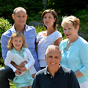 GEORGETOWN, Maine -- 6/30/14 -- Zike Family  portrait. DSC_2481<br /> Photo  ©2014 by Roger S. Duncan <br /> Released for all purposes to Zike Family