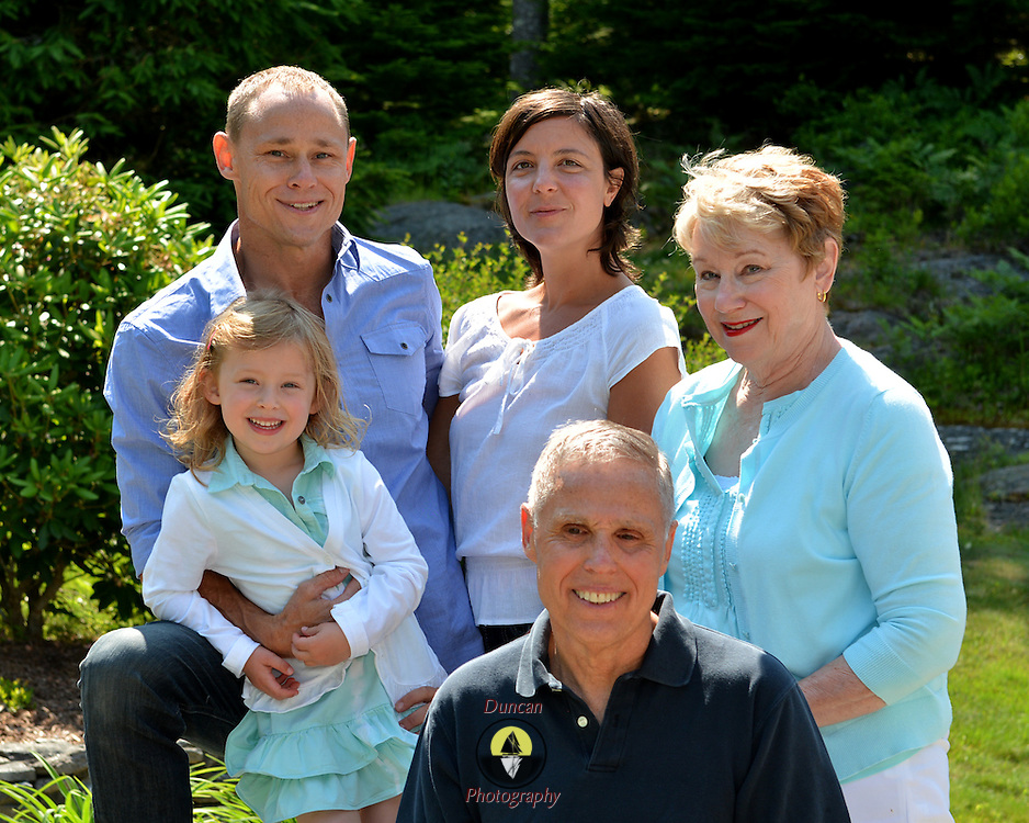 GEORGETOWN, Maine -- 6/30/14 -- Zike Family  portrait. DSC_2481<br /> Photo  &copy;2014 by Roger S. Duncan <br /> Released for all purposes to Zike Family