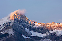 Swiftcurrent Mountain 2571 m (8435 ft), Glacier National park Montana USA