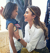 Queen Rania Visits Orphanage, Al Salt