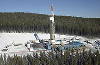 Akita drilling rig 40, near Cold Lake, Alberta, Canada