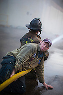 Aaron Fields, is a firefighter for the City of Seattle and the OG of the Nozzle Forward. This class, which teaches basic nozzle and engine company operations, was in Richmond, VA.