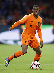 Georginio Wijnaldum of Holland during the International friendly match match between The Netherlands and Peru at the Johan Cruijff Arena on September 06, 2018 in Amsterdam, The Netherlands