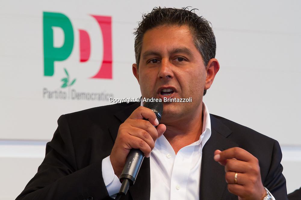 Bologna 01 Settembre 2014 - Festa dell'Unità - Dibattito: Nel cuore della democrazia: le riforme elettorali. Nella foto Giovanni Toti
