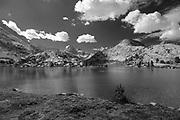 Evolution Lake. John Muir Trail/Pacific Crest Trail; Sequoia Kings Canyon Wilderness; Kings Canyon National Park; Sierra Nevada Mountains, California, USA.