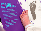 Hull 2017 - New Years Day Baby Footprint
