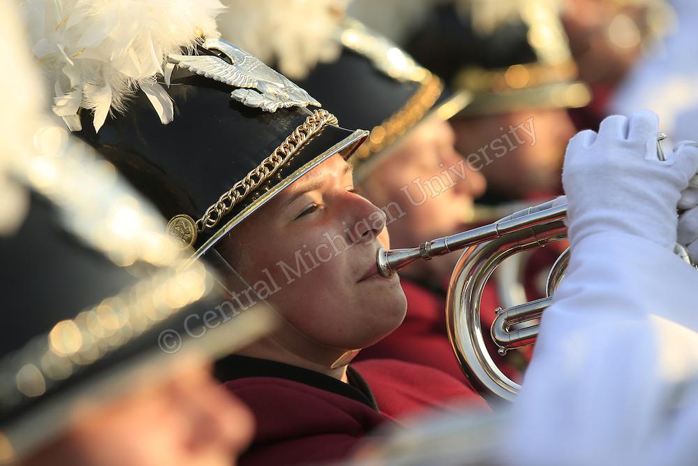 Central Michigan University Marching Band pre-season 2013. Photos by Steve Jessmore/Central Michigan University