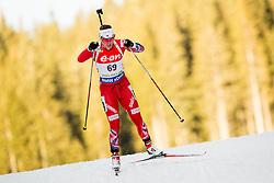 Synnoeve Solemdal of Norway competes during Women 7.5 km Sprint at day 1 of IBU Biathlon World Cup 2014/2015 Pokljuka, on December 18, 2014 in Rudno polje, Pokljuka, Slovenia. Photo by Vid Ponikvar / Sportida