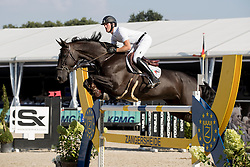Bruynseels Niels, (BEL), Gancia de Muze<br /> Belgisch Kampioenschap Springen - Lanaken 2016<br /> © Hippo Foto - Dirk Caremans<br /> 14/09/16