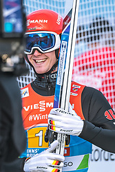 24.02.2019, Bergiselschanze, Innsbruck, AUT, FIS Weltmeisterschaften Ski Nordisch, Seefeld 2019, Skisprung, Herren, Teambewerb, Wertungssprung, im Bild Stephan Leyhe (GER) // Stephan Leyhe of Germany during the competition jump for the men's skijumping Team competition of FIS Nordic Ski World Championships 2019 at the Bergiselschanze in Innsbruck, Austria on 2019/02/24. EXPA Pictures © 2019, PhotoCredit: EXPA/ Dominik Angerer