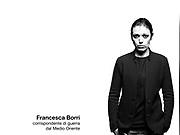 Francesca Borri, giornalista e corrispondente dal Medio Oriente.