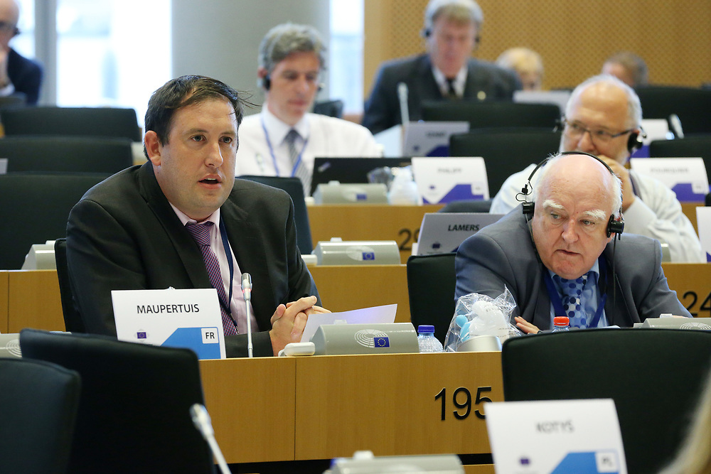 11 May 2017, 123rd Plenary Session of the European Committee of the Regions <br /> Belgium - Brussels - May 2017 <br /> <br /> MCCARTHY Kieran,	Cork City Council,	Ireland<br /> <br /> &copy; European Union / Patrick Mascart