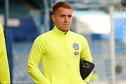 Louis Reed before the EFL Sky Bet League 1 match between Portsmouth and Peterborough United at Fratton Park, Portsmouth, England on 7 December 2019.