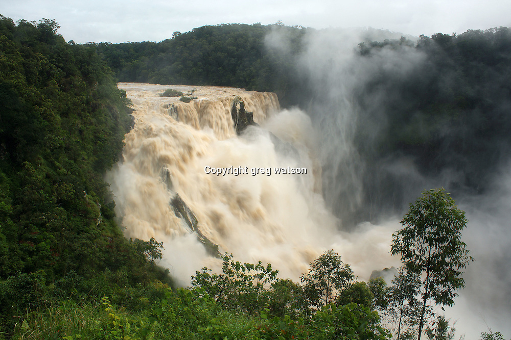 barron falls, wet season, kuranda north queensland