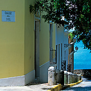 Old San Juan street,.Puerto Rico