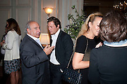 SIR PHILIP GREEN; ARPAD BUSSON, Dinner to mark 50 years with Vogue for David Bailey, hosted by Alexandra Shulman. Claridge's. London. 11 May 2010