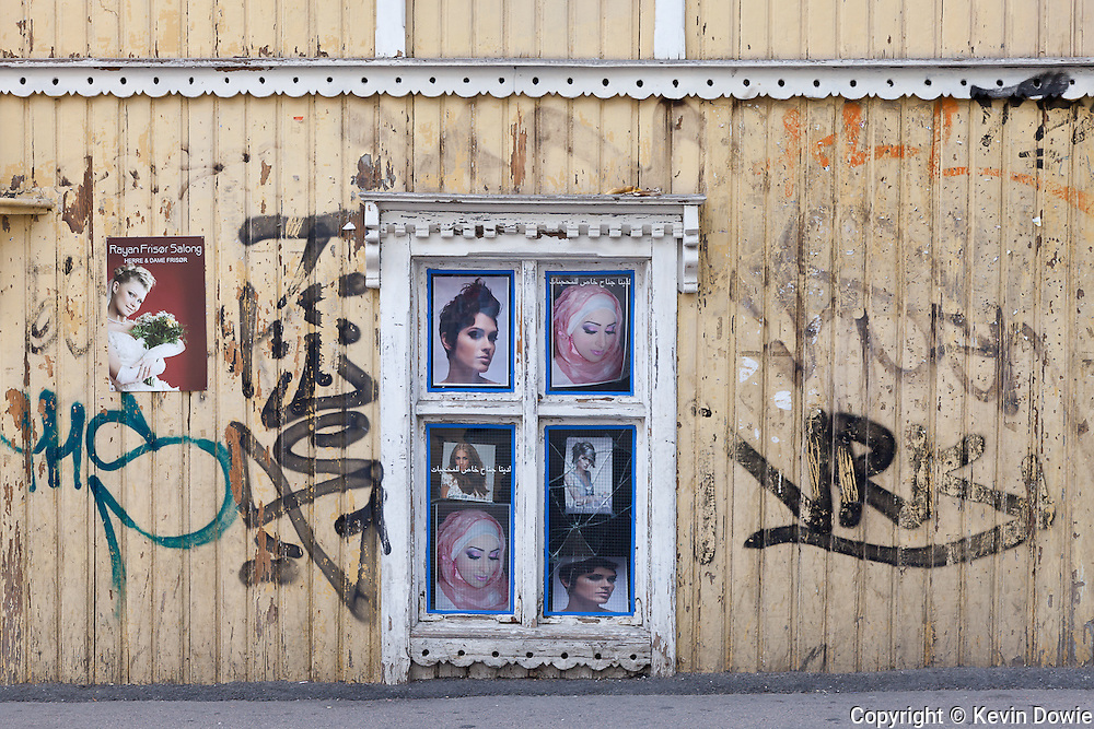 posters and graffiti, Oslo, Norway