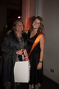 MARIANNE ASTOR; AMY ASTOR, Action Against Cancer 'A Voyage of Discovery' fundraising dinner at the Science Museum on Wednesday 14 October 2015.