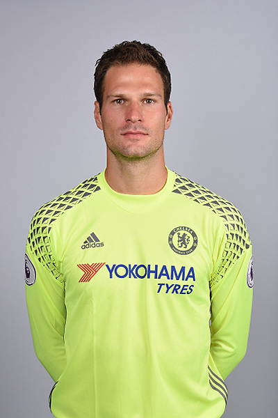 COBHAM, ENGLAND - AUGUST 11: Asmir Begovic of Chelsea during the Official Portrait session at Chelsea Training Ground on August 11, 2016 in Cobham, England. (Photo by Darren Walsh/Chelsea FC via Getty Images)