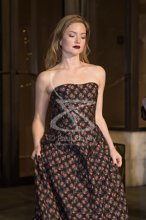Photo Must Be Credited ©Alpha Press<br /> Holliday Grainger arrives at the EE British Academy Film Awards after party dinner at the Grosvenor House Hotel in London.